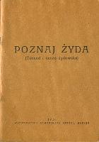 Gajewski Poznaj Zyda Zyda Talmud i dusza żydowska zydowska Samoobrony Narodu 1936 Jews Muzeum Wolnego Słowa m-ws.pl k002099